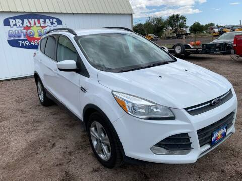2014 Ford Escape for sale at Praylea's Auto Sales in Peyton CO