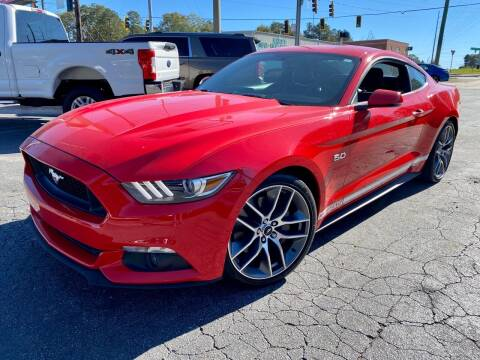 2016 Ford Mustang for sale at Lux Auto in Lawrenceville GA