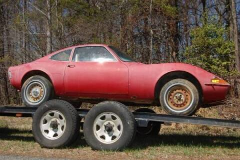 1972 Opel GT for sale at Classic Car Deals in Cadillac MI