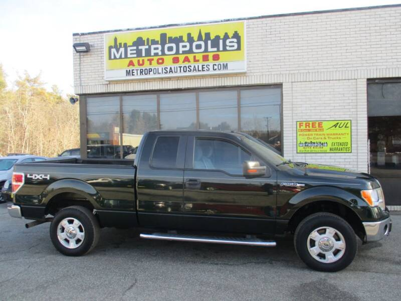 2014 Ford F-150 for sale at Metropolis Auto Sales in Pelham NH