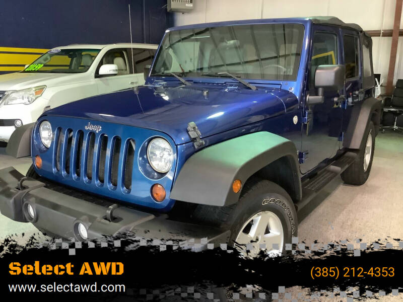 2010 Jeep Wrangler Unlimited for sale at Select AWD in Provo UT