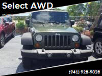 2007 Jeep Wrangler for sale at Select AWD in Provo UT