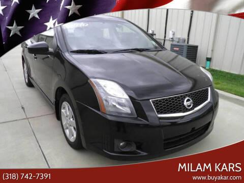 2011 Nissan Sentra for sale at MILAM KARS in Bossier City LA