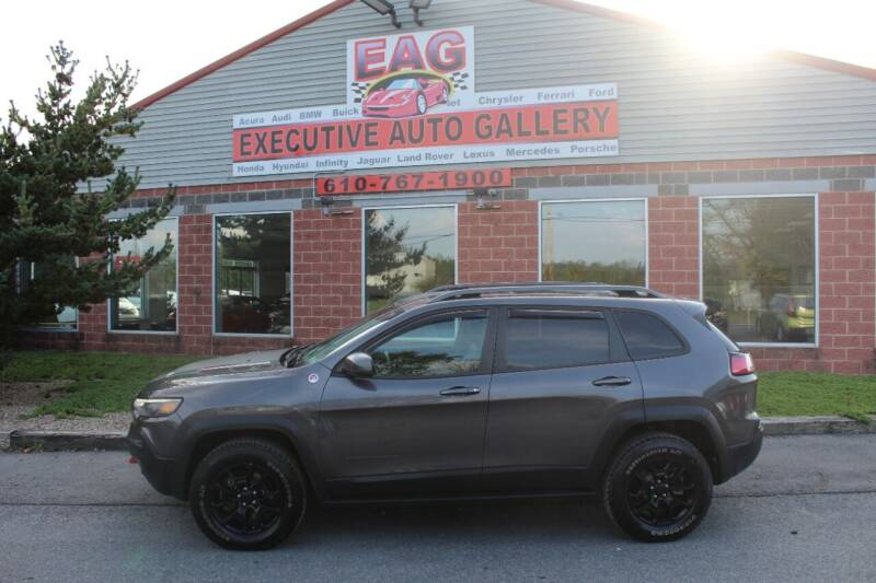 2019 Jeep Cherokee for sale at EXECUTIVE AUTO GALLERY INC in Walnutport PA