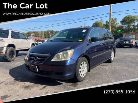 2006 Honda Odyssey for sale at The Car Lot in Radcliff KY