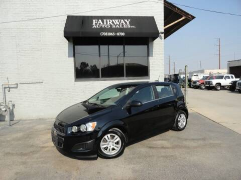 2016 Chevrolet Sonic for sale at FAIRWAY AUTO SALES, INC. in Melrose Park IL