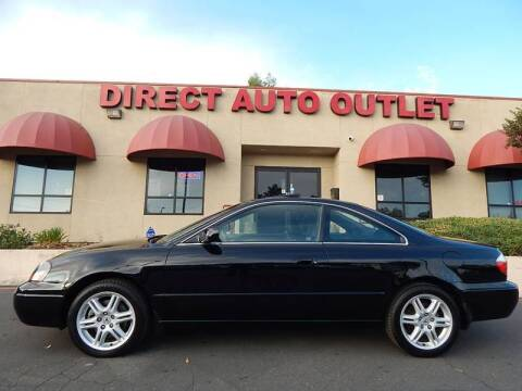 2003 Acura CL for sale at Direct Auto Outlet LLC in Fair Oaks CA