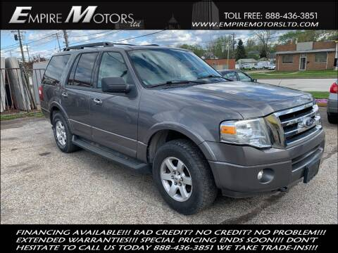 2010 Ford Expedition for sale at Empire Motors LTD in Cleveland OH
