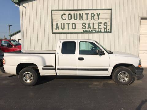 2000 Chevrolet Silverado 1500 for sale at COUNTRY AUTO SALES LLC in Greenville OH
