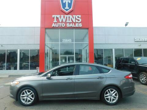 2014 Ford Fusion for sale at Twins Auto Sales Inc Redford 1 in Redford MI