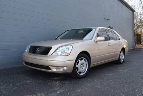 2002 Lexus LS 430 for sale at Precision Imports in Springdale AR