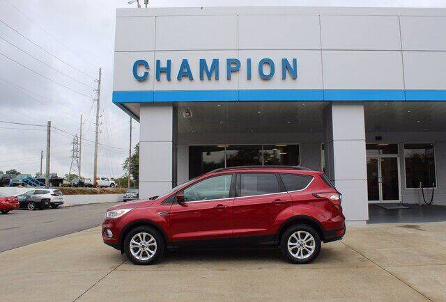 2018 Ford Escape for sale at Champion Chevrolet in Athens AL