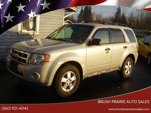2009 Ford Escape for sale at Brush Prairie Auto Sales in Battle Ground WA