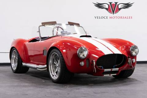 1965 Shelby 427 Cobra SC for sale at Veloce Motorsales in San Diego CA