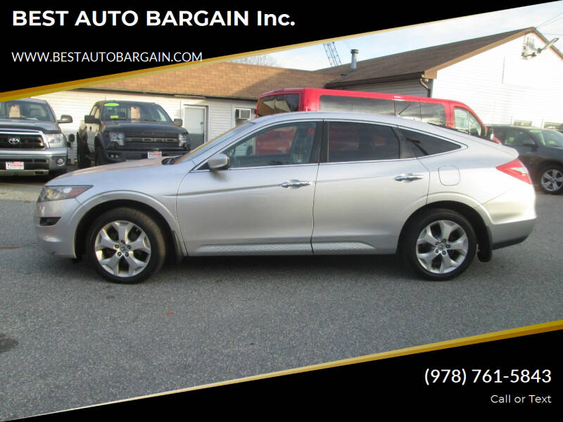 2010 Honda Accord Crosstour for sale at BEST AUTO BARGAIN inc. in Lowell MA