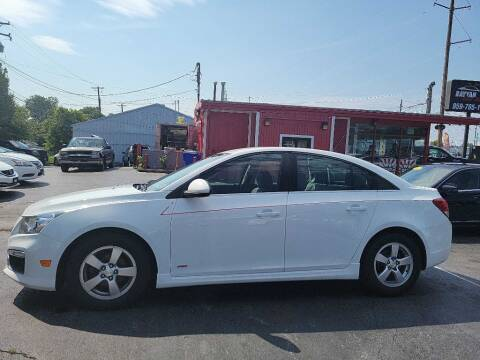 2015 Chevrolet Cruze for sale at Rayyan Auto Mall in Lexington KY