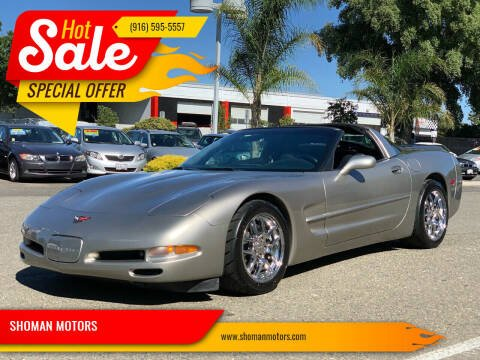 1998 Chevrolet Corvette for sale at SHOMAN AUTO GROUP in Davis CA