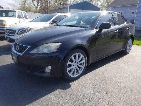 2008 Lexus IS 250 for sale at Great Lakes Classic Cars & Detail Shop in Hilton NY