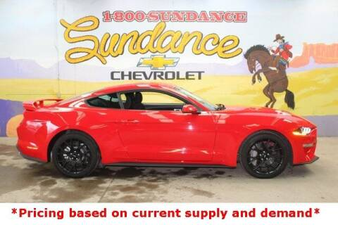 2018 Ford Mustang for sale at Sundance Chevrolet in Grand Ledge MI