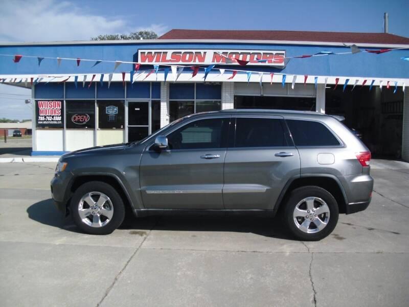2011 Jeep Grand Cherokee for sale at Wilson Motors in Junction City KS