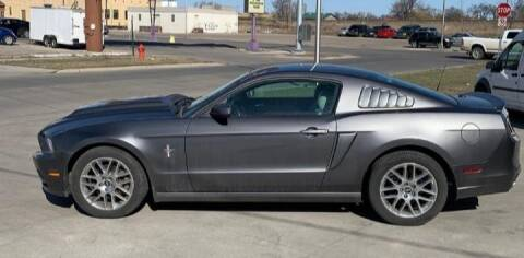 2014 Ford Mustang for sale at GOOD NEWS AUTO SALES in Fargo ND