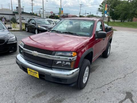 2005 Chevrolet Colorado for sale at ASHLAND AUTO SALES in Columbia MO