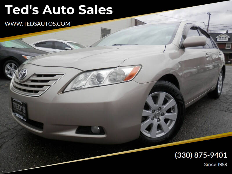 2008 Toyota Camry for sale at Ted's Auto Sales in Louisville OH