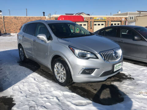 2018 Buick Envision for sale at Carney Auto Sales in Austin MN