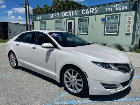 2014 Lincoln MKZ for sale at Best Deals Cars Inc in Fort Myers FL