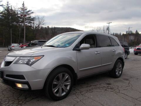 2012 Acura MDX for sale at Manchester Motorsports in Goffstown NH