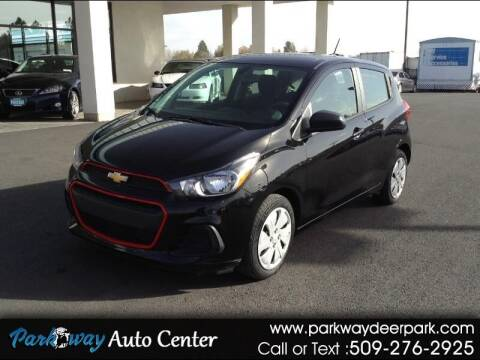 2017 Chevrolet Spark for sale at PARKWAY AUTO CENTER AND RV in Deer Park WA