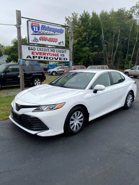 2019 Toyota Camry for sale at ROUTE 11 MOTOR SPORTS in Central Square NY