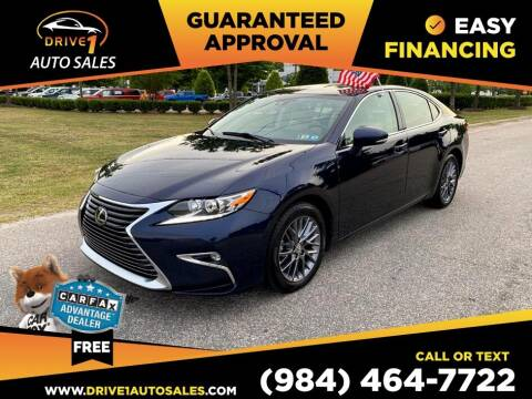 2018 Lexus ES 350 for sale at Drive 1 Auto Sales in Wake Forest NC