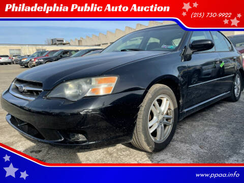 2005 Subaru Legacy for sale at Philadelphia Public Auto Auction in Philadelphia PA