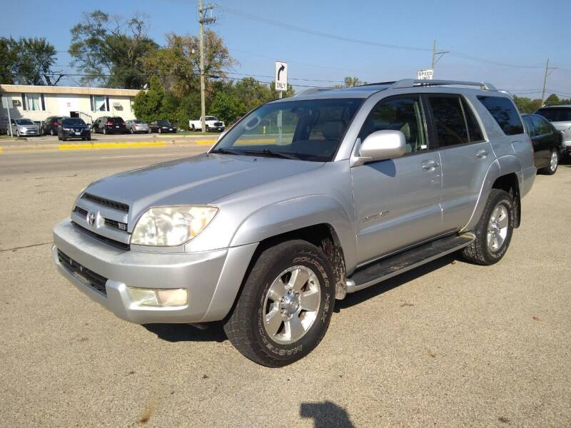2003 Toyota 4Runner for sale at GLOBAL AUTOMOTIVE in Grayslake IL
