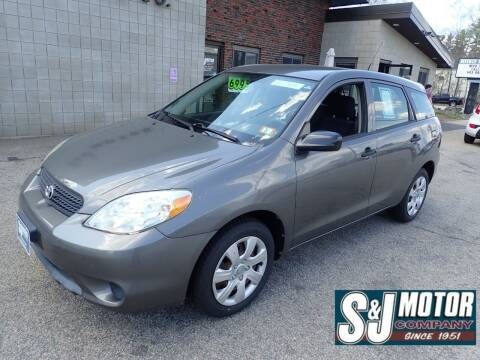 2007 Toyota Matrix for sale at S & J Motor Co Inc. in Merrimack NH