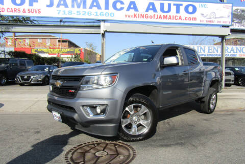 2018 Chevrolet Colorado for sale at MIKEY AUTO INC in Hollis NY