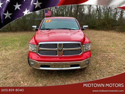 2017 RAM Ram Pickup 1500 for sale at Midtown Motors in Greenbrier TN