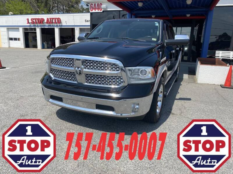2013 RAM Ram Pickup 1500 for sale at 1 Stop Auto in Norfolk VA