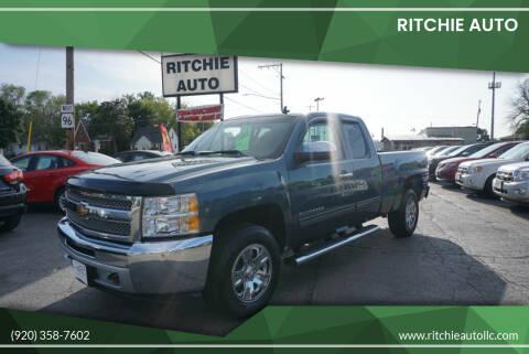 2012 Chevrolet Silverado 1500 for sale at Ritchie Auto in Appleton WI