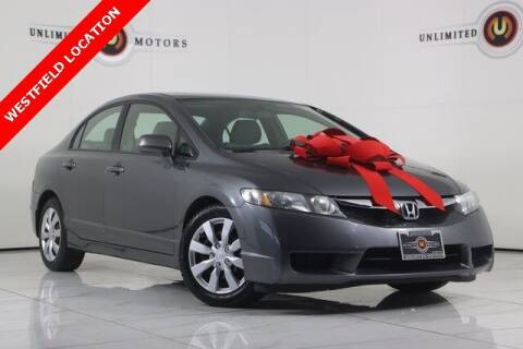 2009 Honda Civic for sale at INDY'S UNLIMITED MOTORS - UNLIMITED MOTORS in Westfield IN