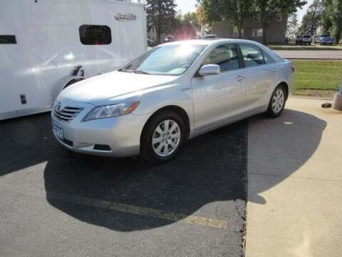 2007 Toyota Camry Hybrid for sale at Stoufers Auto Sales, Inc in Madison Lake MN