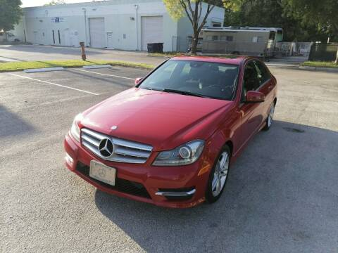 2014 Mercedes-Benz C-Class for sale at Best Price Car Dealer in Hallandale Beach FL