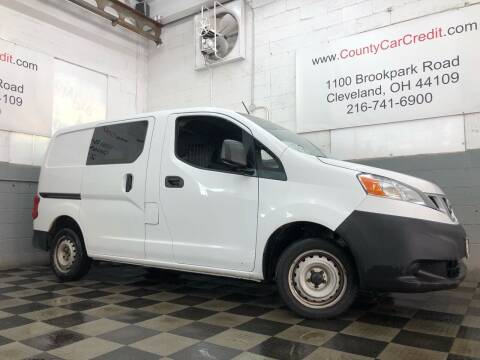 2015 Nissan NV200 for sale at County Car Credit in Cleveland OH