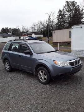 2010 Subaru Forester for sale at STAR CITY PRE-OWNED in Morgantown WV
