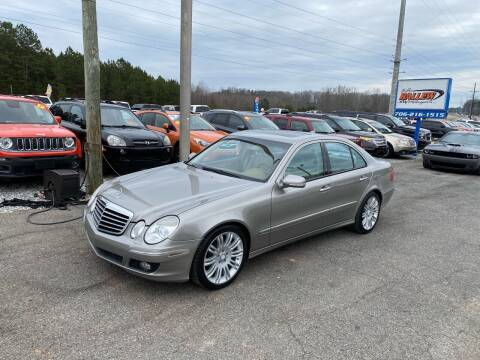2008 Mercedes-Benz E-Class for sale at Billy Ballew Motorsports in Dawsonville GA