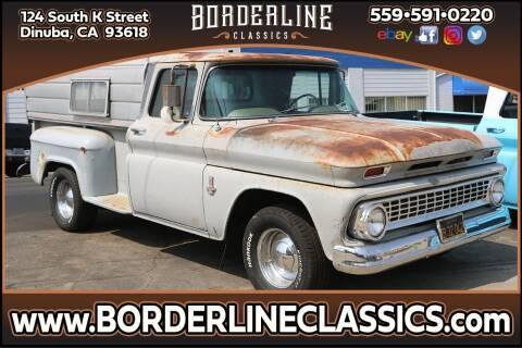 1963 Chevrolet C/K 10 Series for sale at Borderline Classics in Dinuba CA