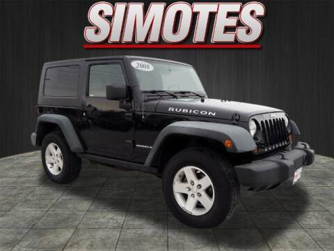 2008 Jeep Wrangler for sale at SIMOTES MOTORS in Minooka IL