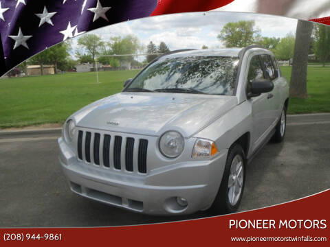 2008 Jeep Compass for sale at Pioneer Motors in Twin Falls ID