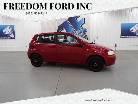 2008 Chevrolet Aveo for sale at Freedom Ford Inc in Gunnison UT